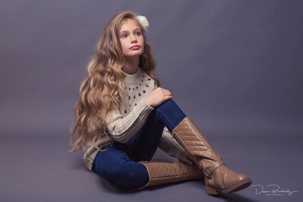 Modelshooting mit Giselle