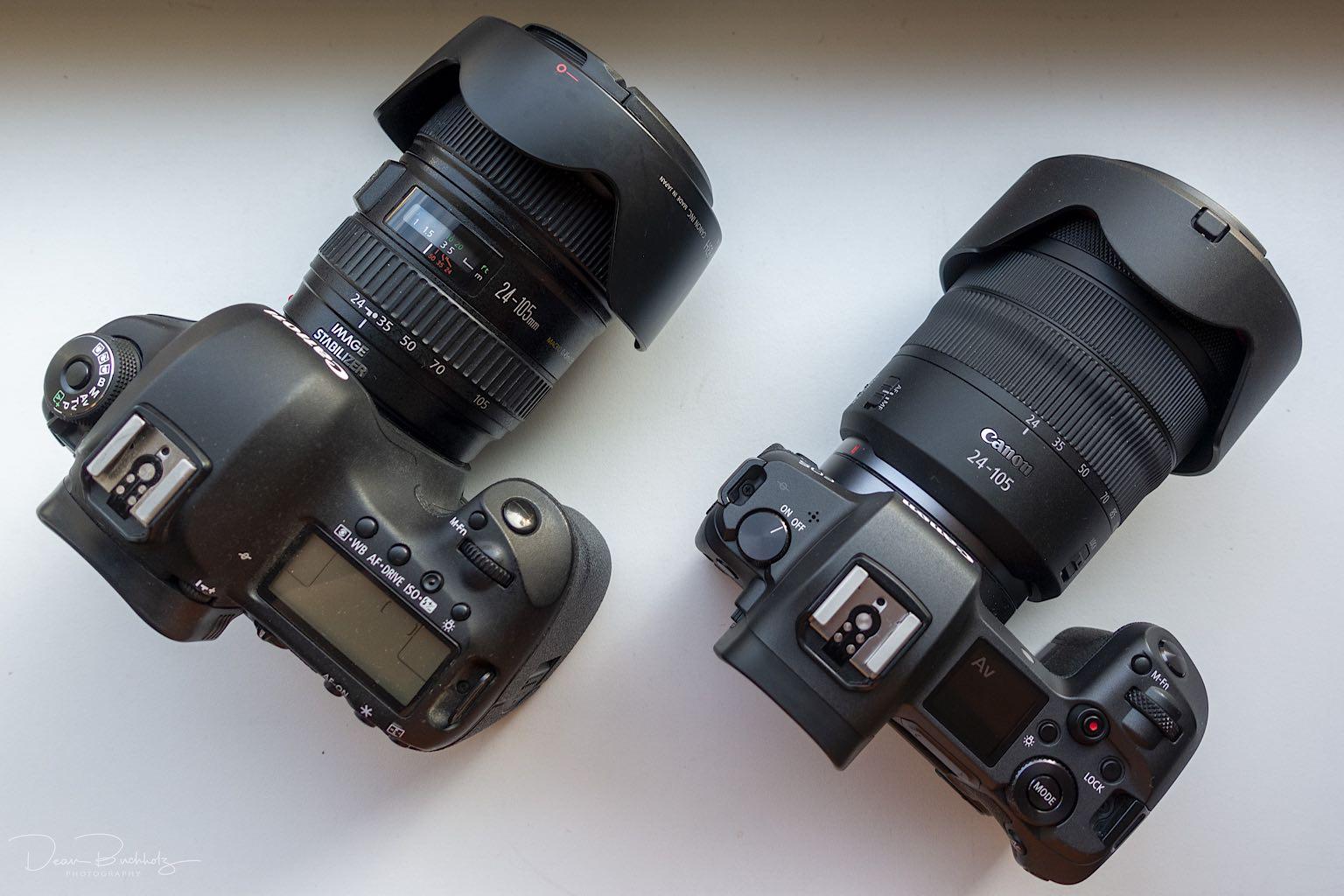 Neue Canon EOS-R zum testen gehabt